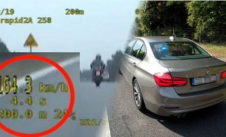 """Policjanci z grup """"SPEED"""" w regionie złapali kolejnych kierowców, którzy narażali bezpieczeństwo swoje i innych."""