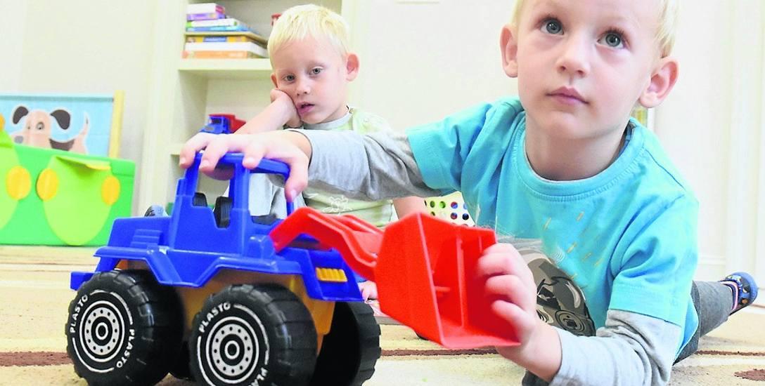- Mamy tu fajne zabawki i w ogóle jest super - mówią dzieci z przedszkola w Starym Kisielinie, W nowej placówce jest sto miejsc. Dzieli ona pomieszczenia