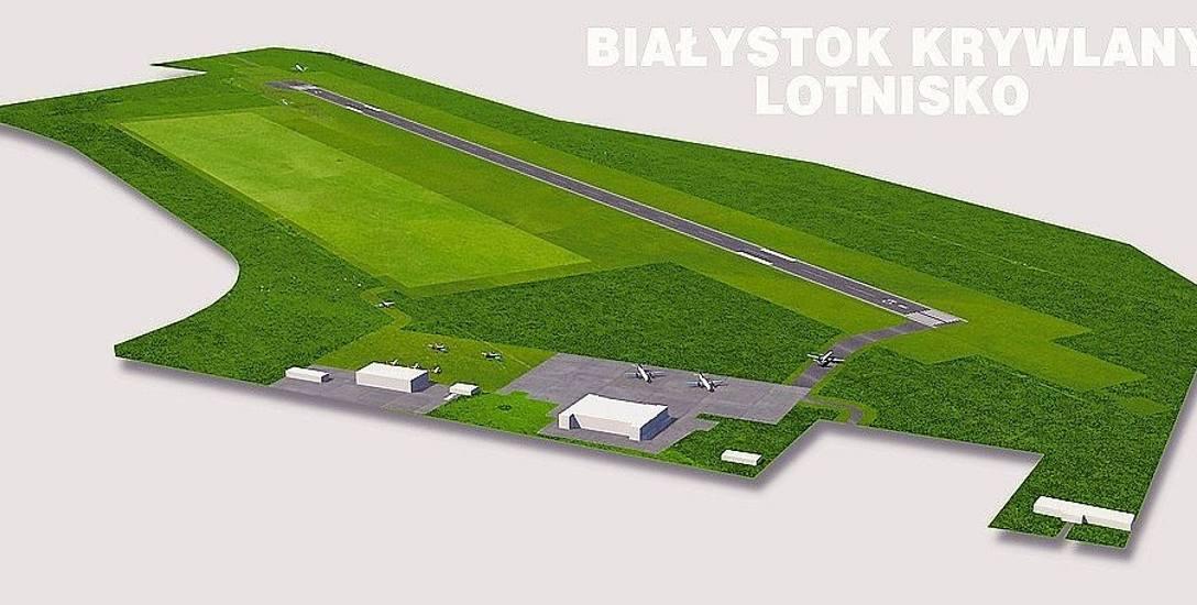 To projekt lotniska na Krywlanach. Jeżeli inwestycja zostanie zrealizowana, będą mogły tu lądować tylko niewielkie samoloty, zabierające do 50 osób na