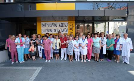Pracownicy szpitala stoją murem za dyrektorem Profaską