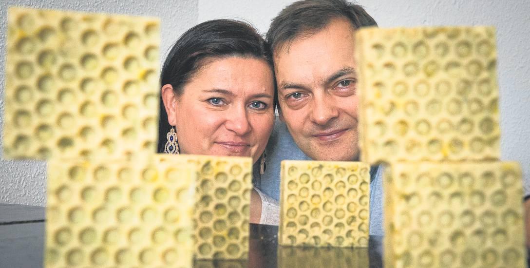 Biznes pszczelim woskiem pachnący