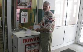 Jerzy Pasierb z Rzeszowa prenumeruje Nowiny i  systematycznie gra w loterii