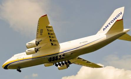 An-124 Rusłan w Łodzi. Megasamolot opóźniony