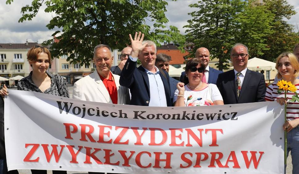 Film do artykułu: Wybory samorządowe. Wojciech Koronkiewicz startuje na prezydenta Białegostoku z oficjalnym poparciem SLD (zdjęcia, wideo)