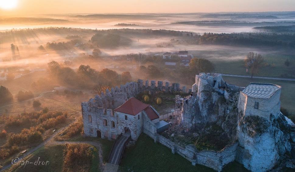 """Film do artykułu: Zamek w Małopolsce stanie się planem zdjęciowym serialu """"Wiedźmin""""?"""