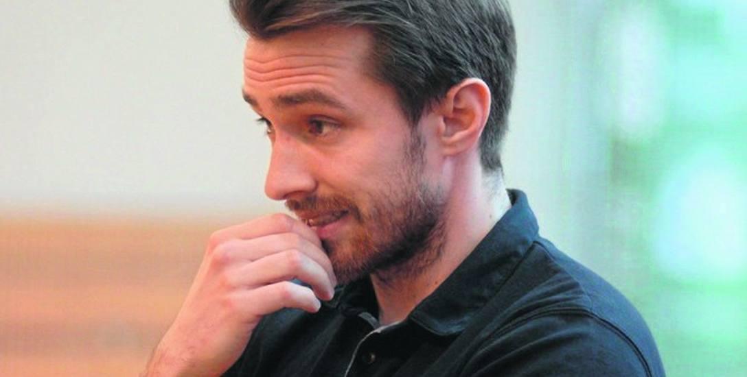 Trener Maciej Górecki