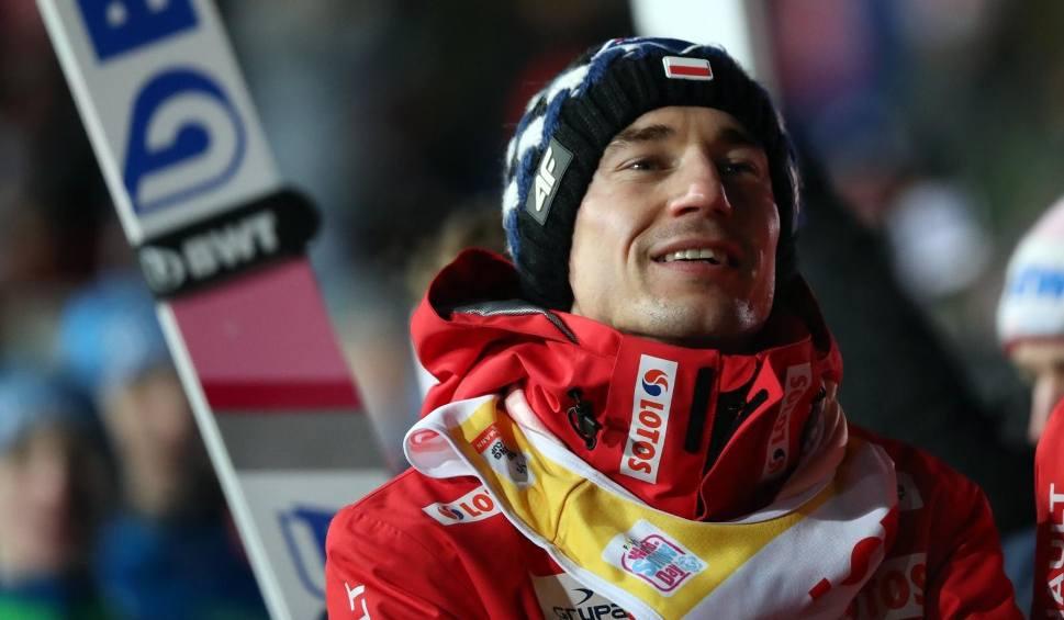 Film do artykułu: Skoki narciarskie. Kamil Stoch o rekordowym skoku: Nogi są całe, ale trochę się trzęsą. Zużyłem całą energię