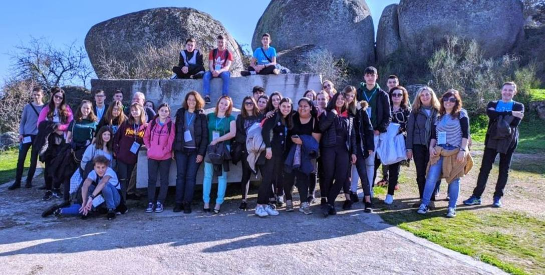 Białostockim uczniom, dzięki Erasmus + udało się pojechać na początku roku do Hiszpanii