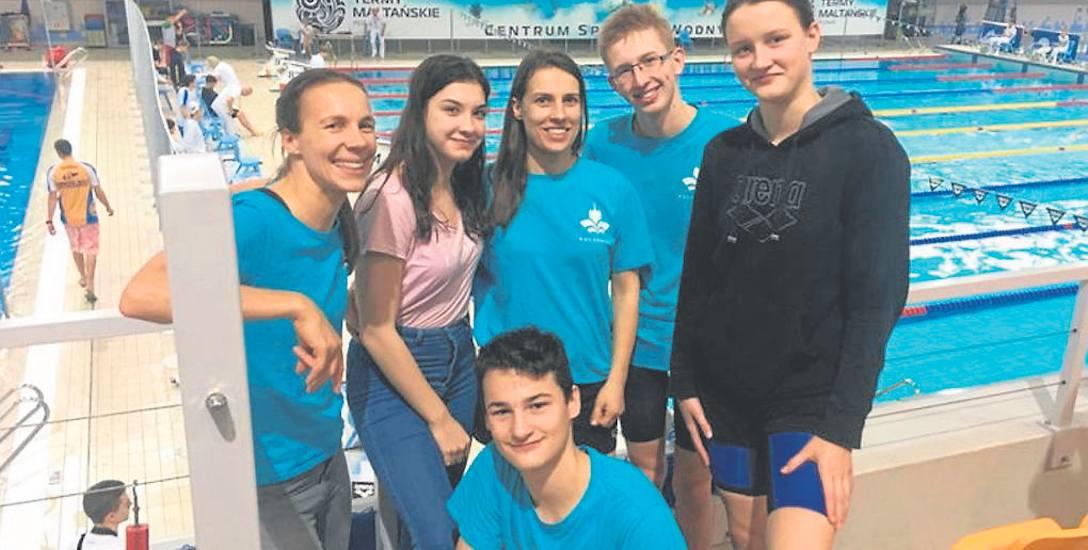 Zawodnicy MKP Kołobrzeg podczas zawodów w Poznaniu szlifowali formę na mistrzostwa kraju