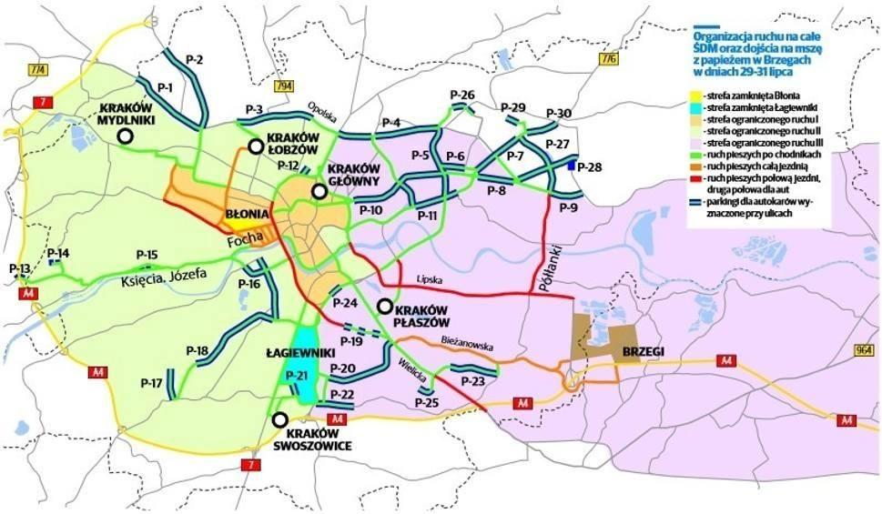 Film do artykułu: ŚDM w Krakowie. Jakie zmiany w ruchu nas czekają? [MAPY, STREFY]