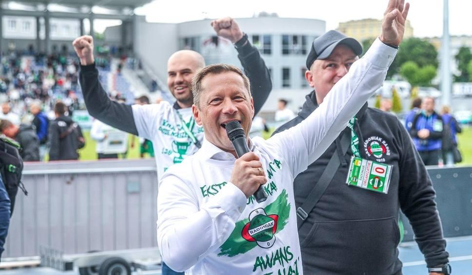 Film do artykułu: Dariusz Banasik, trener Radomiaka Radom: - Drużyna będzie wzmocniona (ROZMOWA WIDEO)