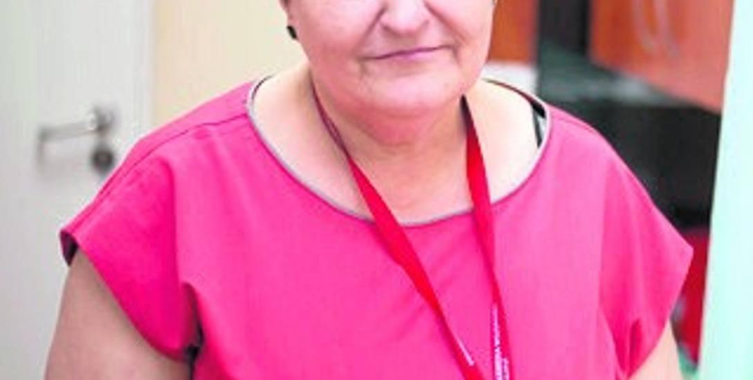 Małgorzata Żuchlińska, przełożona pielęgniarka