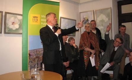 Profesor Jan Miodek w Radomiu: Zresetujcie swój mózg!