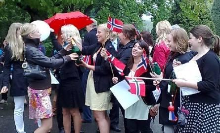Już po raz czwarty norwescy studenci uroczyście obchodzą ten dzień w Białymstoku