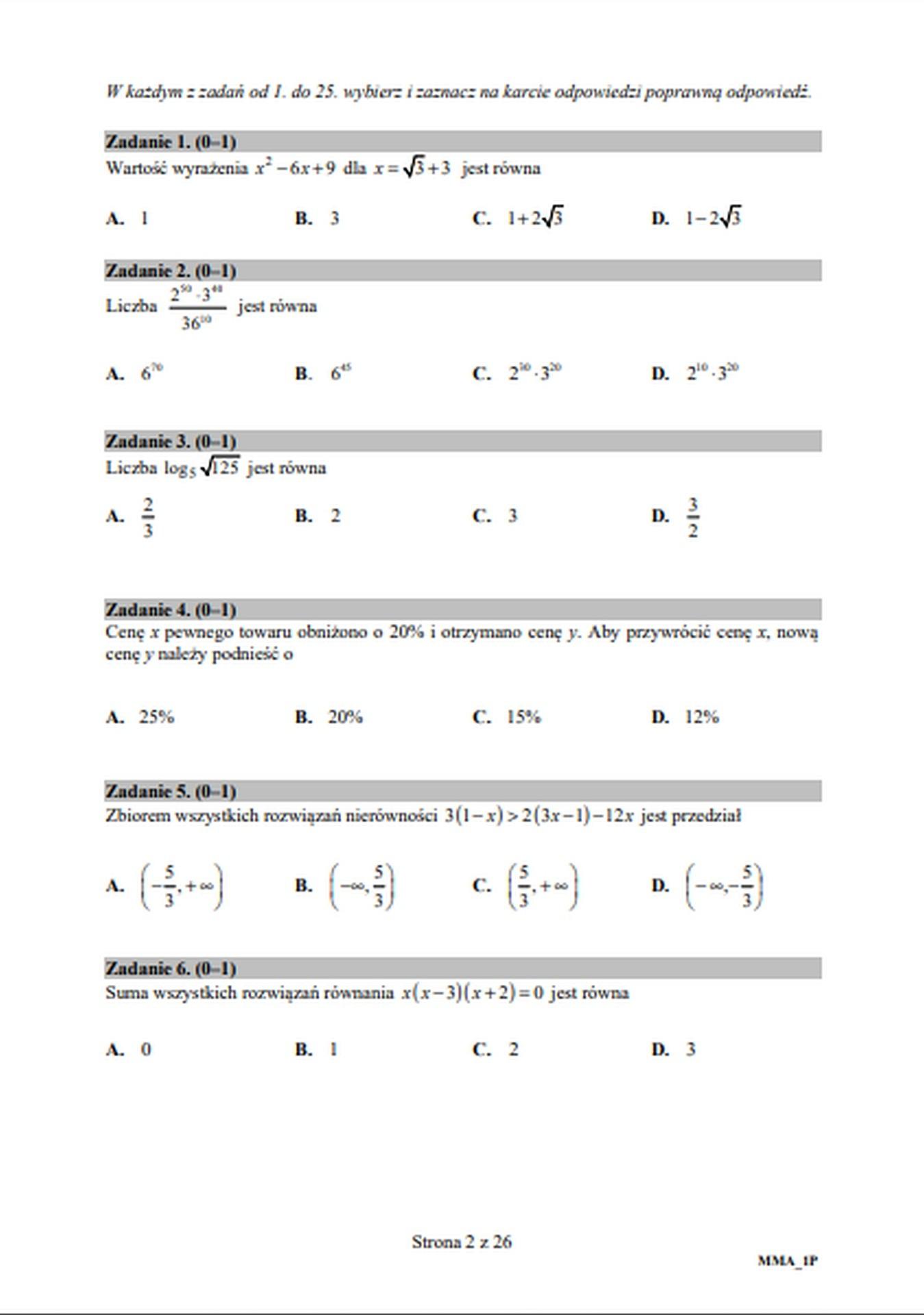 matura z matematyki rozszerzona 2021 odpowiedzi
