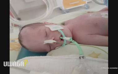 """UWAGA! TVN 18.09 Siedlce: Śmierć po porodzie, rodzice winą obarczają szpital. Dyrektor: """"Los tego dziecka oparł się o 20 zł"""""""