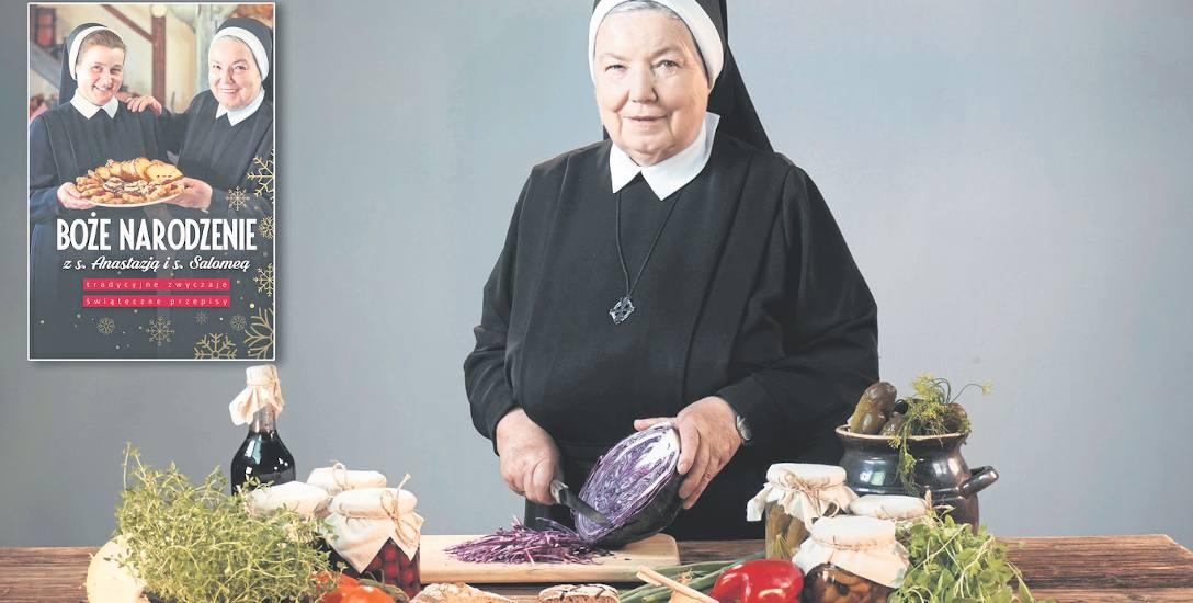 Siostra Anastazja, najpopularniejsza kucharka wśród zakonnic, uważa, że... jedzenie nie jest w święta aż tak ważne