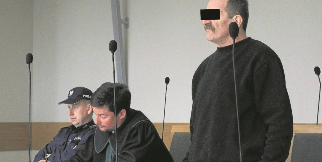 Sąd Okręgowy w Krakowie. Trwa proces w sprawie próby zabójstwa braci. Oskarżonym jest 60-letni Józef S. z Naprawy