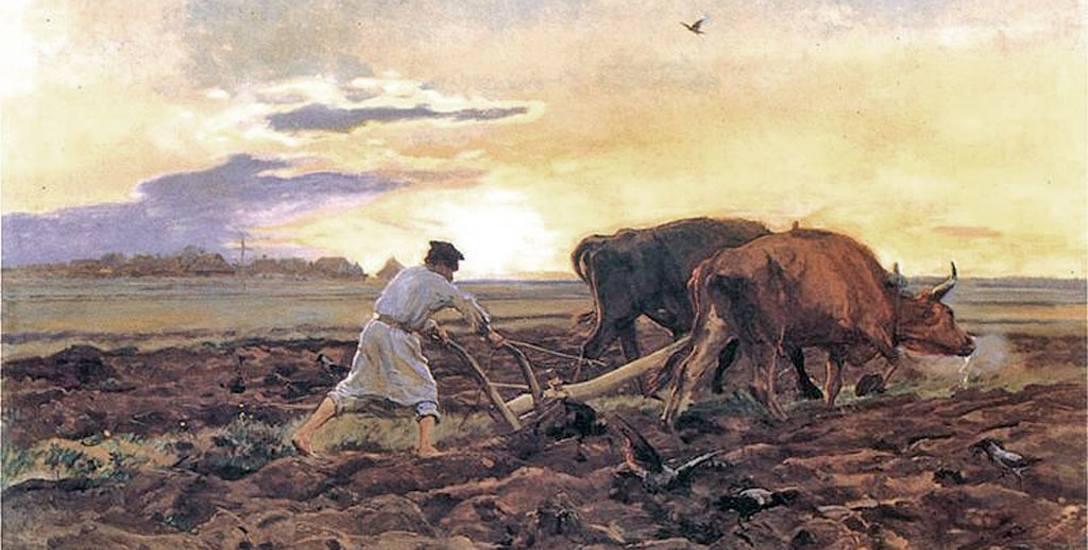 Praca na rzecz pana były niejako formą zapłaty za nadział gruntu, a z czasem utrwaliła się po prostu jako forma poddaństwa.