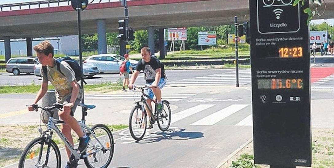 Niestety wiele odcinków ścieżek rowerowych w Łodzi nie jest połączonych ze sobą.