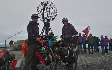 Do Norwegii tam i z powrotem na rowerach! [ZDJĘCIA]