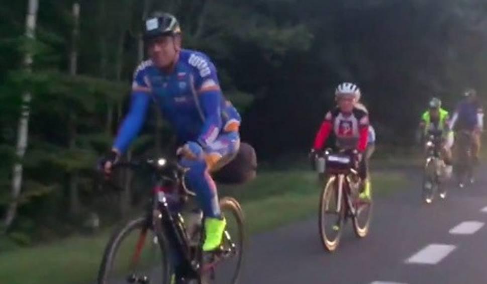 Film do artykułu: To dla nich próba charakteru i fizycznej wytrzymałości. Muszą przejechać na rowerach ponad 1000 km, w ramach akcji Bałtyk-Bieszczady