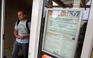 Lecznica Citomed przy ulicy Marii Skłodowskiej-Curie w Toruniu jest jedną z trzech placówek, w których pacjenci otrzymują obecnie pomoc medyczno-pielęgniarską