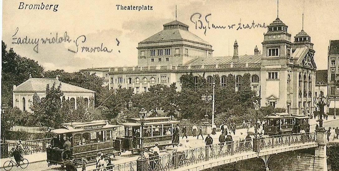 Gmach Teatru Miejskiego.