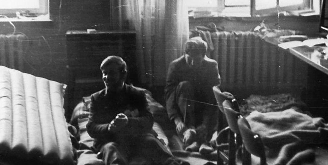 Uczestnicy chłopskiego strajku okupacyjnego w Rzeszowie