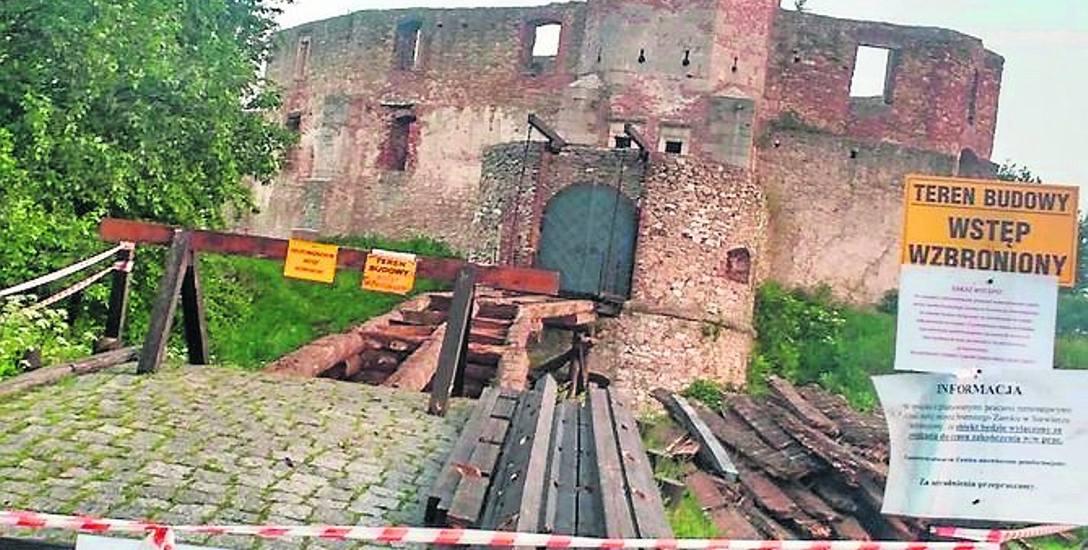 Siewierz: w lipcu zamek zamknięty, bo remontują most