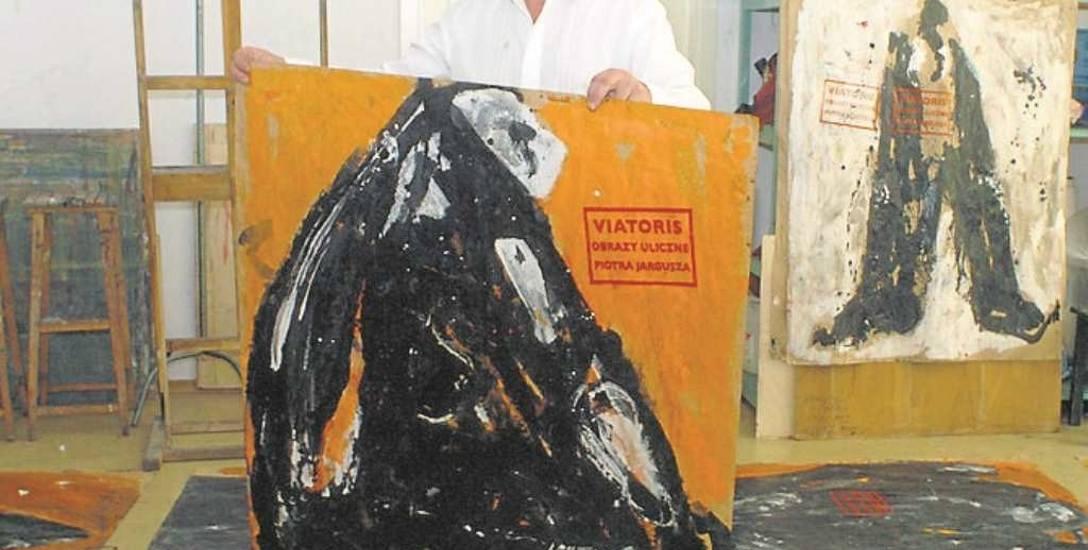 Artysta obecnie prezentuje swoje prace w Otwartej Pracowni.
