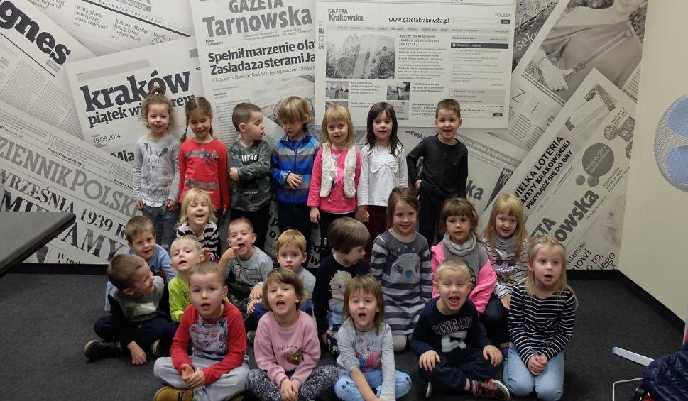 Film do artykułu: Dzieci z Zielonek w redakcji Gazety Krakowskiej