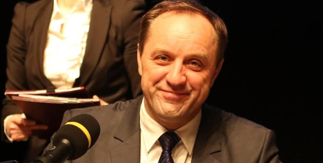 Marszałek Mieczysław Struk ma powody do zadowolenia - województwo pomorskie najsprawniej dysponuje unijnymi pieniędzmi