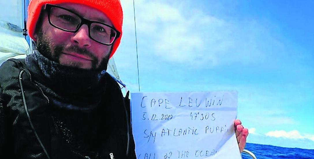 Szymon Kuczyński co tydzień publikuje relację ze swojej wyprawy. Np. 5 grudnia minął kolejny z Przylądków na trasie - australijski Leeuwin. Przygodę