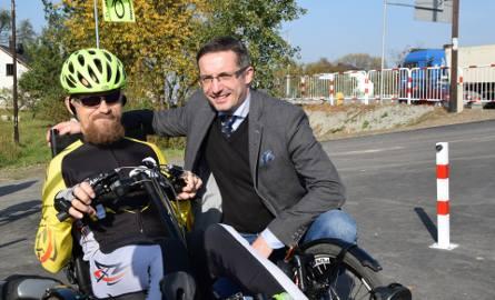 Rybnik: Na rowerze z prezydentem, czyli 2,5 km wzdłuż Nacyny. Tak się chwalą nową trasą
