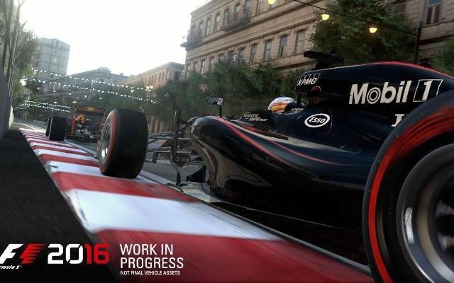 F1 2016: Nowy tor i inne nowości (wideo)