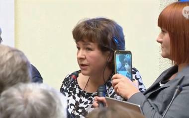 Dr Dorota Sienkiewicz na posiedzenie sejmowej komisji zdrowia pojechała razem z działaczami ruchów antyszczepionkowych