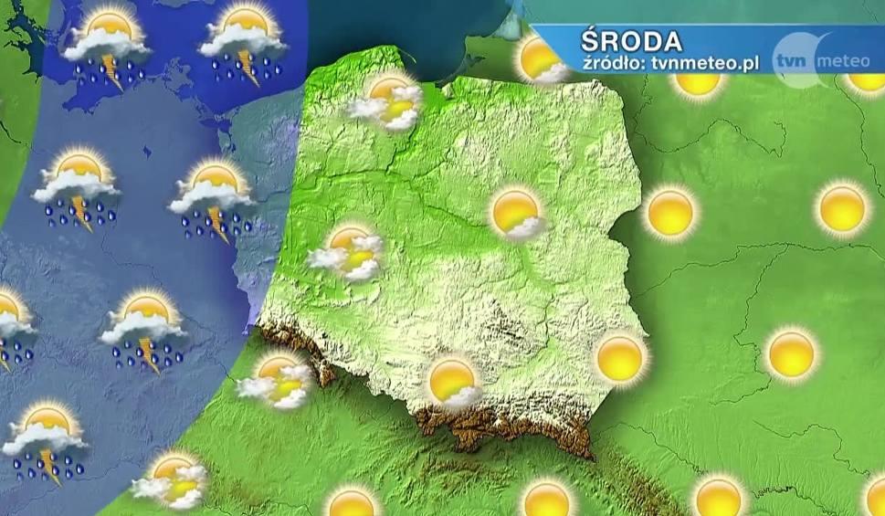 Film do artykułu: Pogoda w Szczecinie i nad morzem: W środę ciepło, możliwe burze [WIDEO]