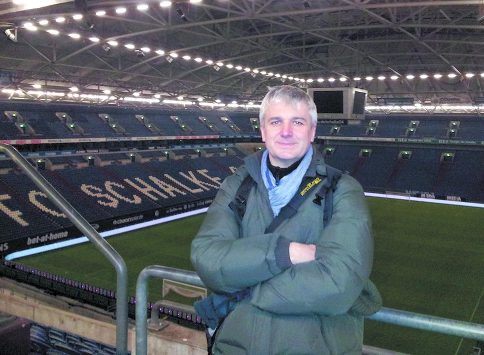 """""""Mam nadzieję, że mój system znajdzie niedługo powszechne zastosowanie na wielu renomowanych stadionach na całym świecie""""."""