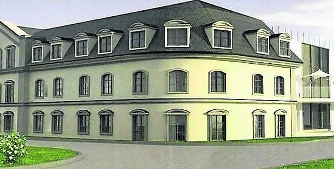 Koło Parku Krasnala będzie piękny hotel