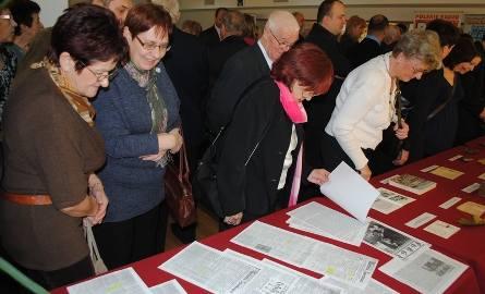 Wystawa cieszyła się ogromnym zainteresowaniem zwiedzających