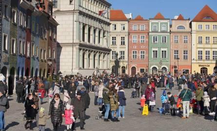 W sobotę do Poznania zawitała ciepła i słoneczna pogoda. W powietrzu czuć wiosnę, chociaż jest przecież dopiero połowa lutego. Słońce zachęciło poznaniaków