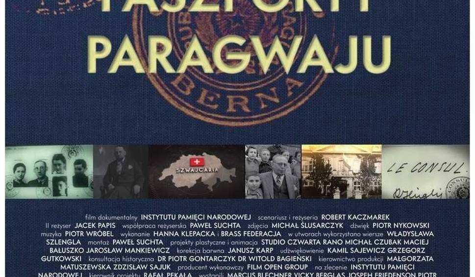 """Film do artykułu: Instytut Pamięci Narodowej i Resursa Obywatelska w Radomiu zapraszają na pokaz filmu """"Paszporty Paragwaju"""""""