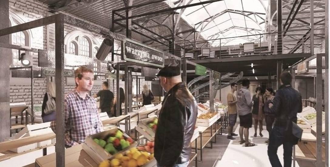 Handel i gastronomia. Tak ma wyglądać hala w przyszłości