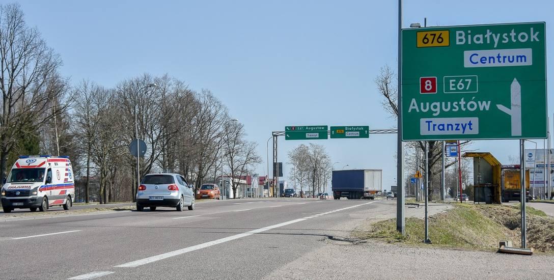 Przebudowa skrzyżowania al. Jana Pawła II z Narodowych Sił Zbrojnych w Białymstoku długo czeka na realizację