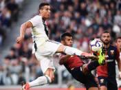 Cristiano Ronaldo grał w Manchesterze United przez sześć sezonów.