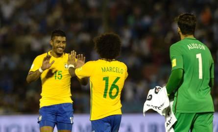 Paulinho błysnął w meczu przeciwko Urugwajowi
