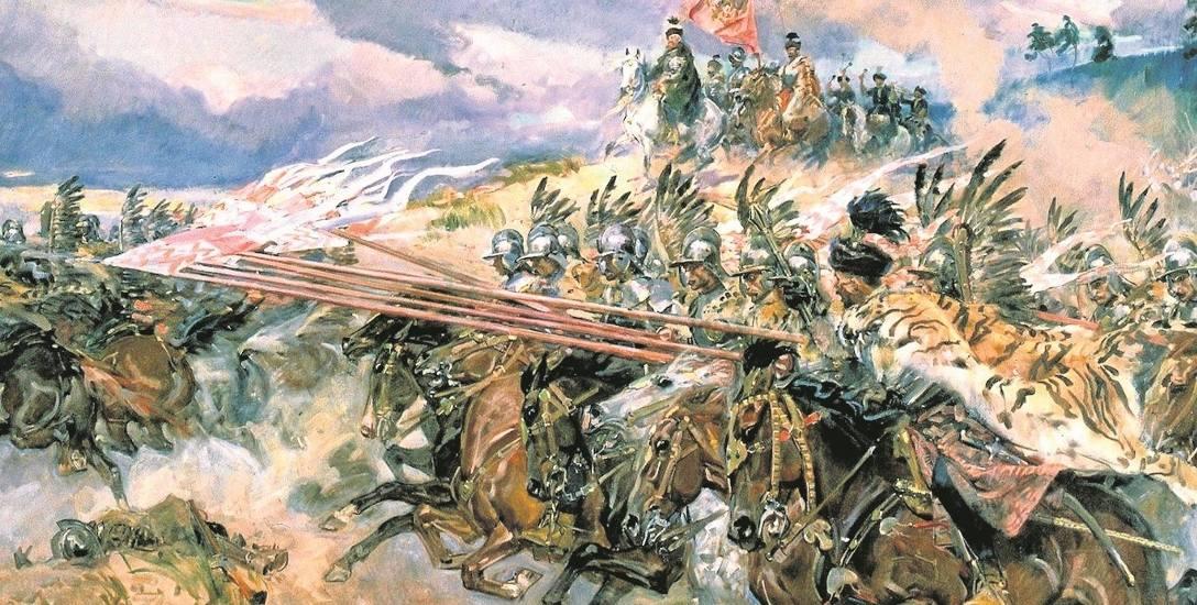 Bitwa pod Kircholmem, jedno z najwspanialszych zwycięstw husarii na obrazie Wojciecha Kossaka