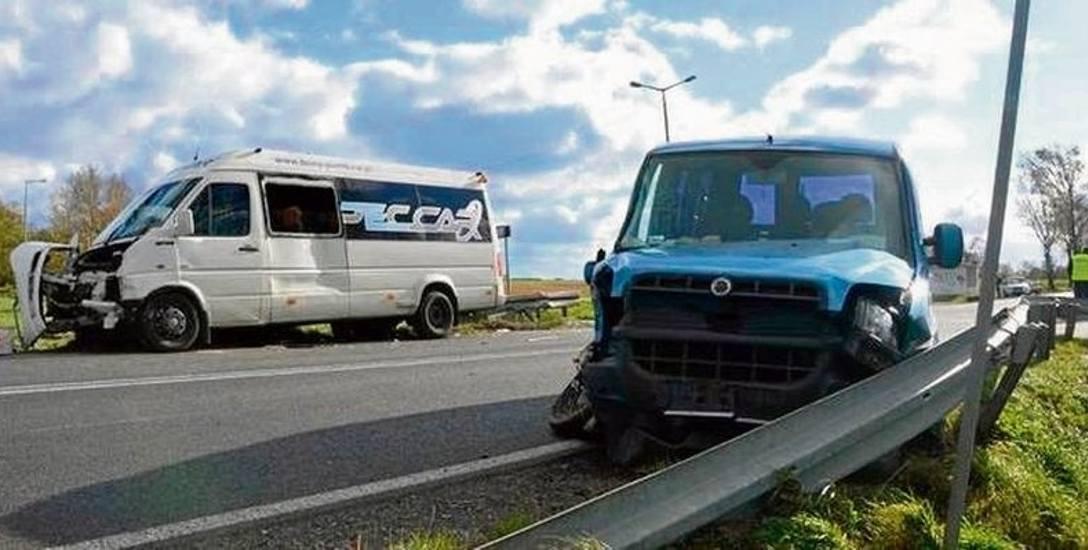 16 rannych w wypadku pod Piotrkowem