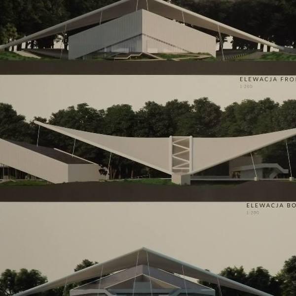 Koncepcja, którą latem ub.r. przedstawiła poznańska Autorska Pracownia Projektowa. Optymistyczny wariant zakładał rozpoczęcie budowy jesienią tego roku.